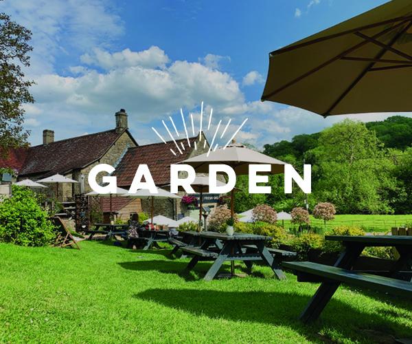 Website garden homepage